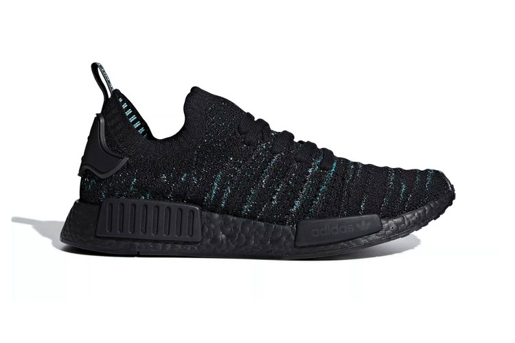 "Parley and adidas Return With NMD R1 ""Core Black Blue Spirit"" 0c5a8034f"