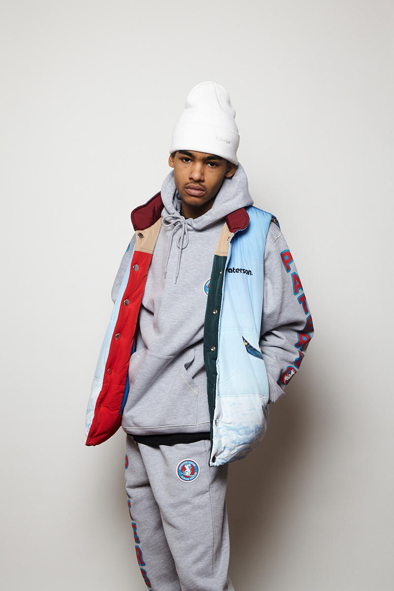 Paterson Fall Winter 2018 collection lookbook Ski sportswear vests outerwear tracksuits hats accessories