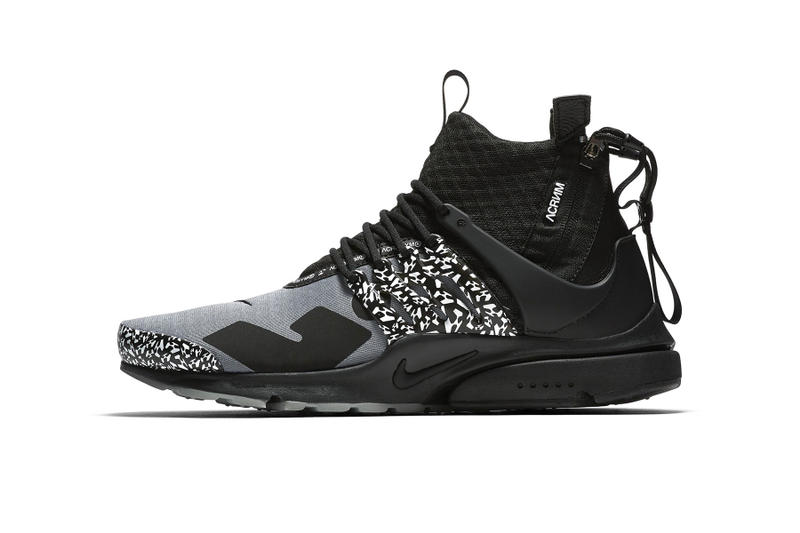 patta acronym nike air presto mid raffle 2018 collaborations footwear