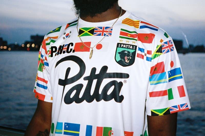Patta appelsap flag tee shirt exclusive print august 9 2018 festival drop release date buy purchase shop sale summer