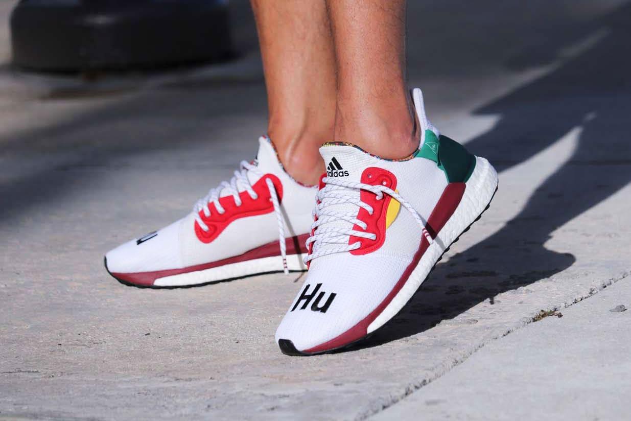 Pharrell x adidas Solar Hu Glide ST in