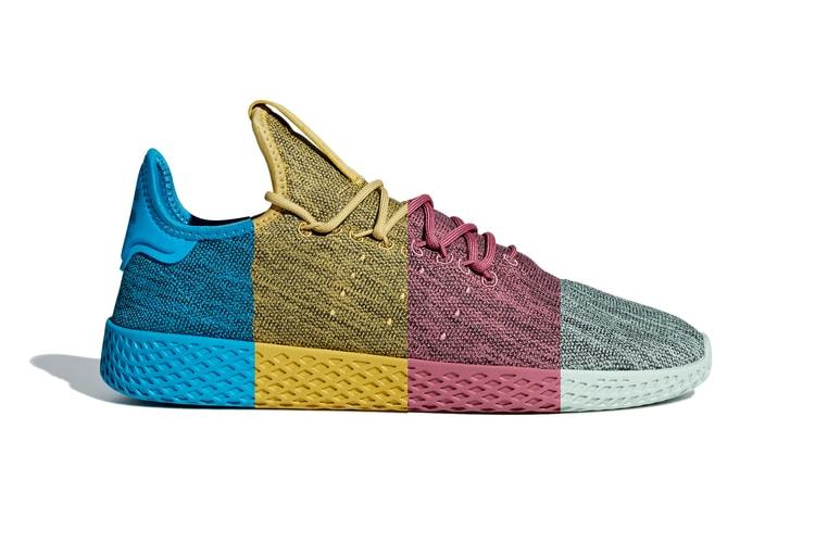 7243420c2 Pharrell s adidas Tennis Hu Receives a Dip-Dye Makeover