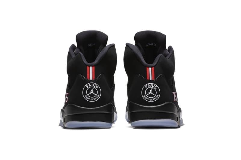 info for a978d dd1fe psg air jordan 5 2018 august footwear jordan brand paris saint german