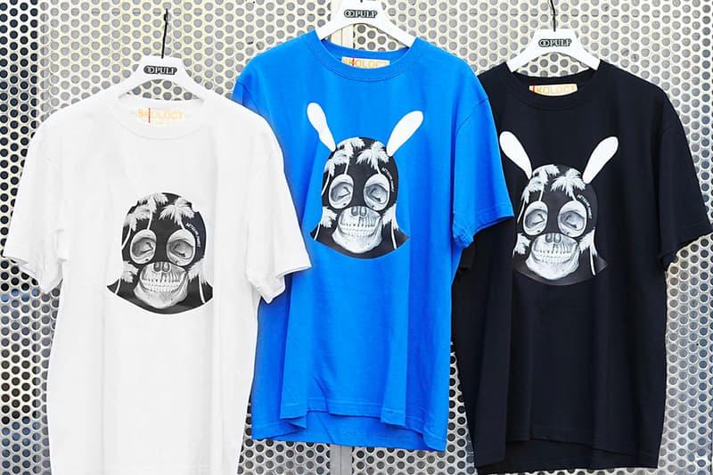 PULP 417 ÉDIFICE SKOLOCT Pop-Up Shop Pin Lighter Watch Hoodie T shirt tie dye Japan Tokyo