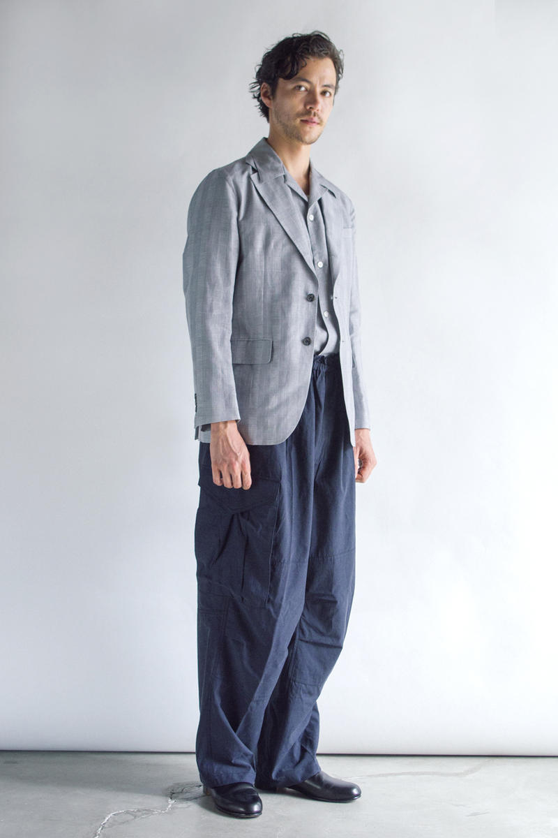 Rainmaker Kyoto Spring Summer 2019 Lookbook collection japan suiting tailoring style gown coat men women kimono
