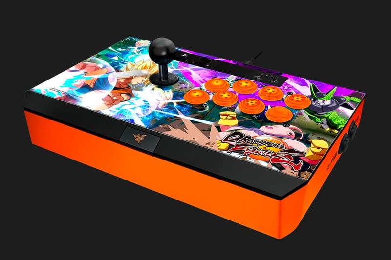 Razer Panthera Atrox Dragon Ball FighterZ Arcade Stick Edition Sony PlayStation 4 Microsoft Xbox One