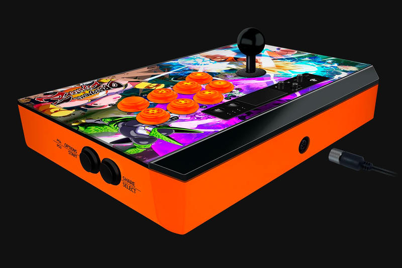 Razer Panthera Atrox Dragon Ball FighterZ Arcade Stick Edition Sony PlayStation 4 Microsoft Xbox One