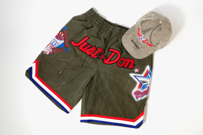 READYMADE Just Don Maxfield RSVP Gallery shorts cap release info nba all-star game