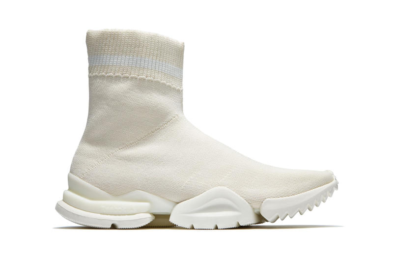 "Reebok Sock Run.r 96 ""Chalk"" Sneakers Shoes Kicks Reebok Footwear Vetements Vintage Classic Leather Sock 1996 PUMP EVO prototype sneaker release date slip on august 3 2018"