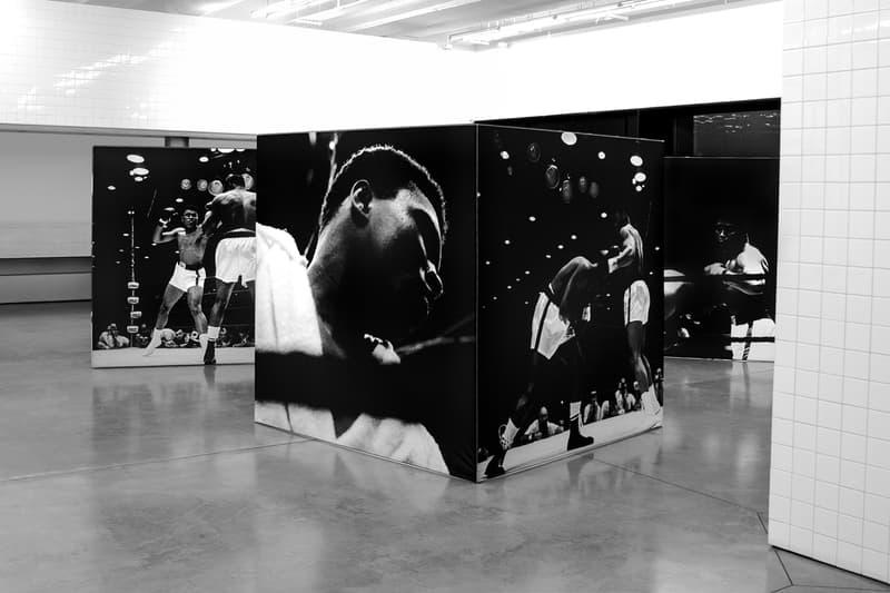 reigning champ muhammad ali la brea installation photography artworks