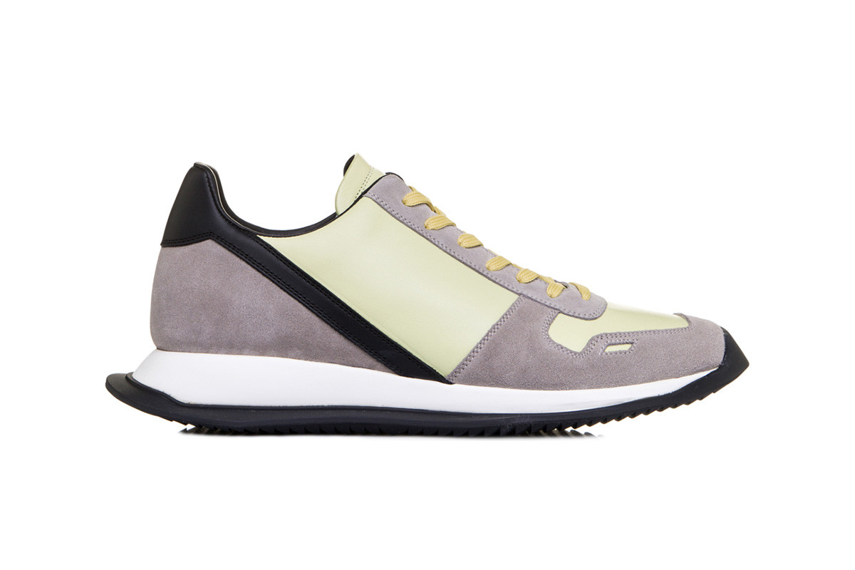 Rick Owens Vintage Lace Up Runner in