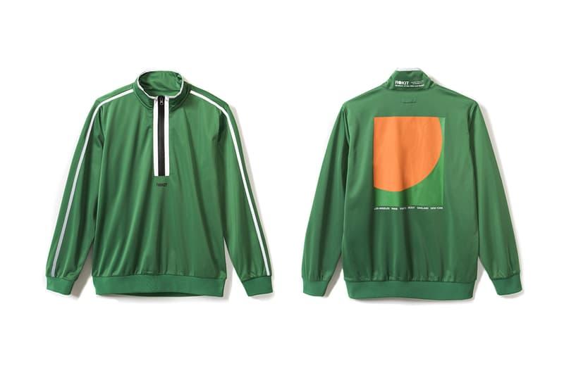 ROKIT Fall Winter 2018 Delivery 1 Lookbook Release Trench Coat Hoodie Anorak zip Up Pants short long sleeve T shirt bags