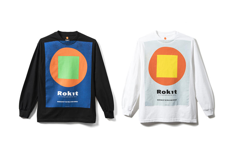 ROKIT Fall Winter 2018 Delivery 1 Lookbook Release Trench Coat Hoodie Anorak zip Up Pants short long sleeve T shirt bags