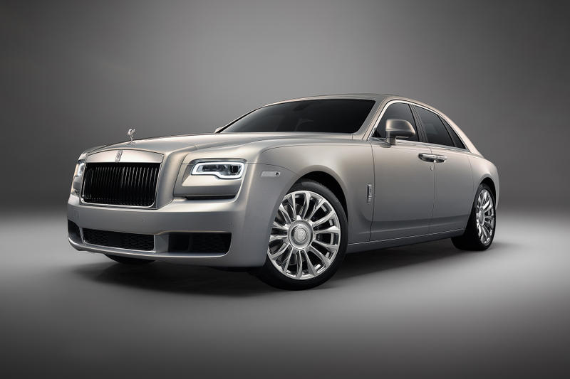 Rolls-Royce Introduces 'Silver Ghost' Collection Car Automotive Engineering Luxury Classic Bespoke heritage Phantom RR Wraith