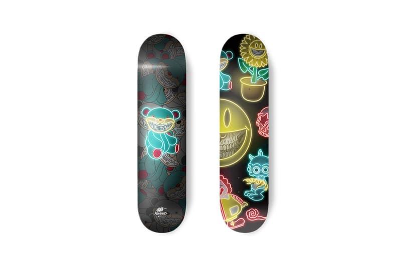 ron english apportfolio collectibles vinyl figures prints skate decks yo hood artworks