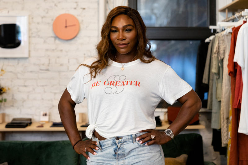 serena williams new york city pop up shop great brand clothing line design hypebae exclusive interview release date info buy purchase sale sell