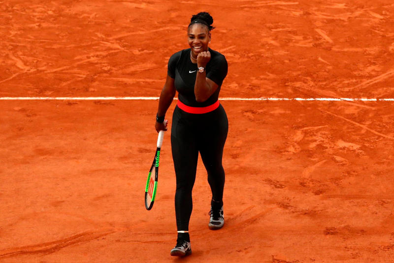 serena williams black catsuit french open banned nike response