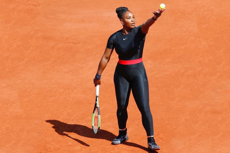 Serena Williams Nike Black Catsuit Banned French Open