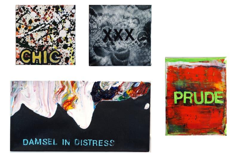 visual language subliminal projects exhibition shepard fairey jenny holzer dface artworks art paintings sculptures installations