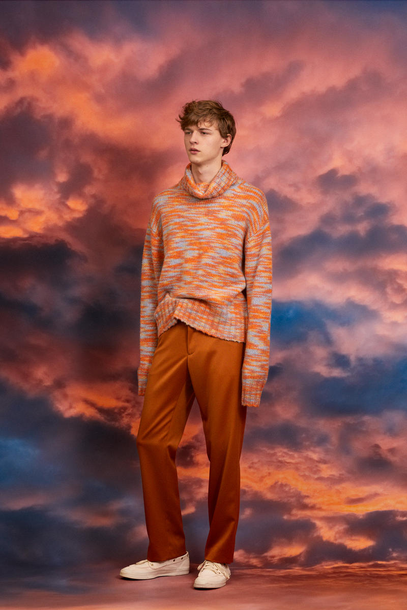 Sies Marjan Men's Fall/Winter 2018 Collection clothing garments colorful