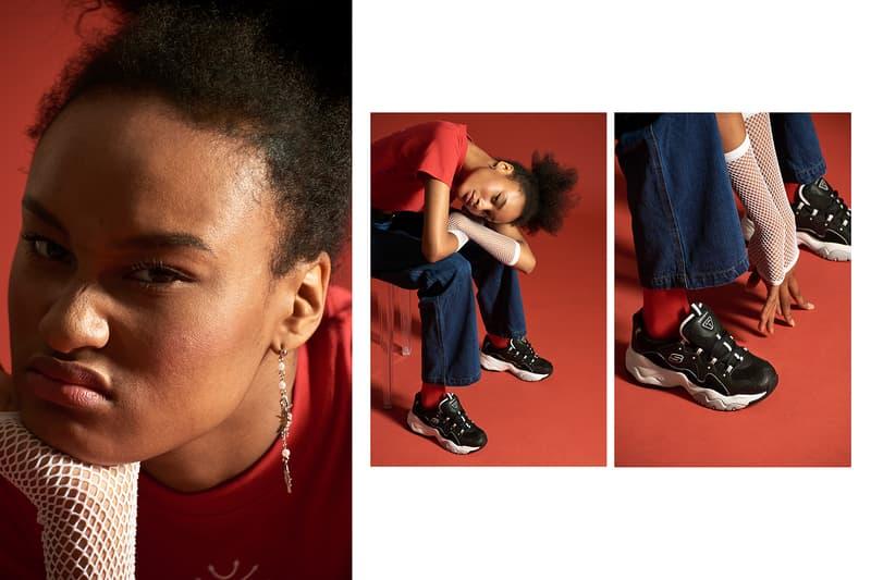 Skechers D-Lites 3 Goblin Chunky Dad Sneaker Korea Ugly