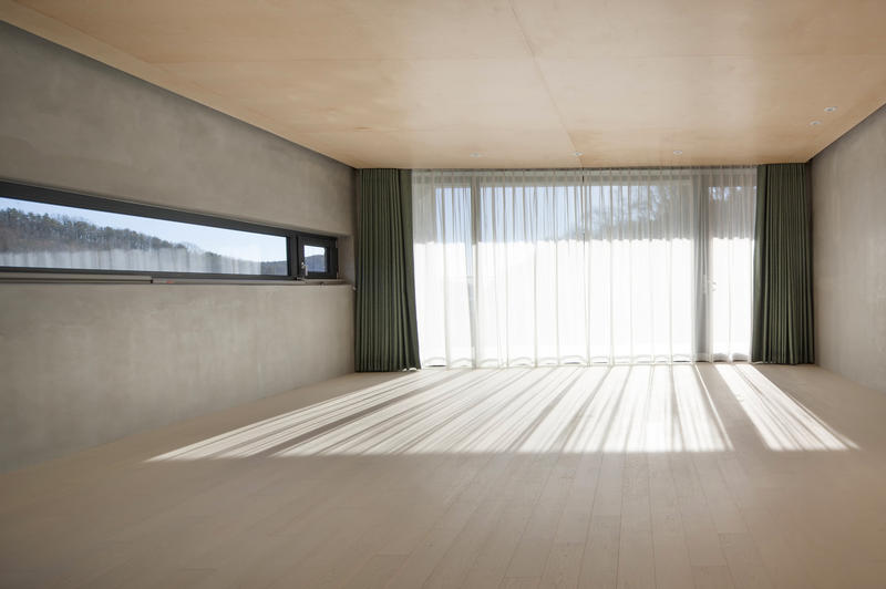 Snow AIDe Tranquility House architecture Homes South Korean design interior minimalist farm land Location Yongin-si