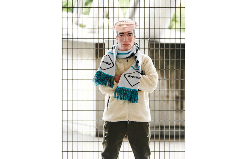 SOPHNET.'s F.C Real Bristol fall winter 2018 lookbook collection