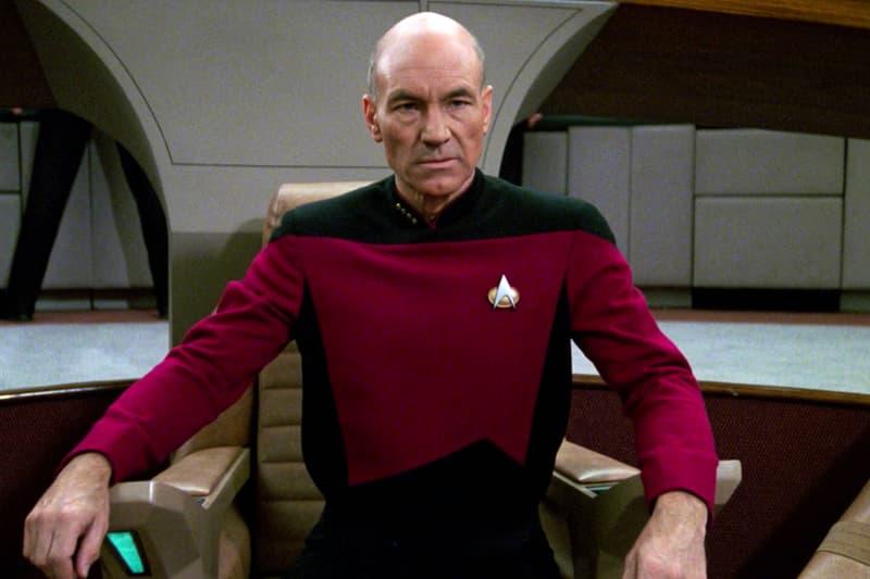 Patrick Stewart Captain Picard Star Trek