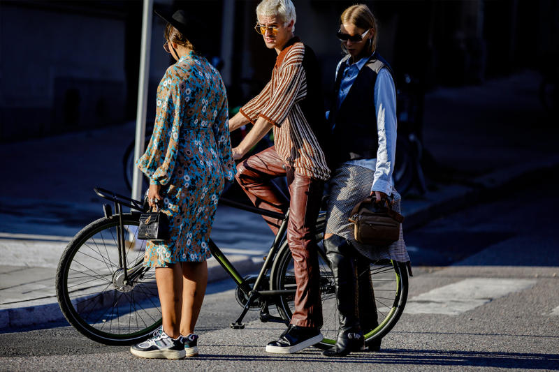 Stockholm Fashion Week SS19 Street Style spring summer 2019 sweden balenciaga raf simons adidas yeezy angel sneaker streetwear fashion trends scandinavian