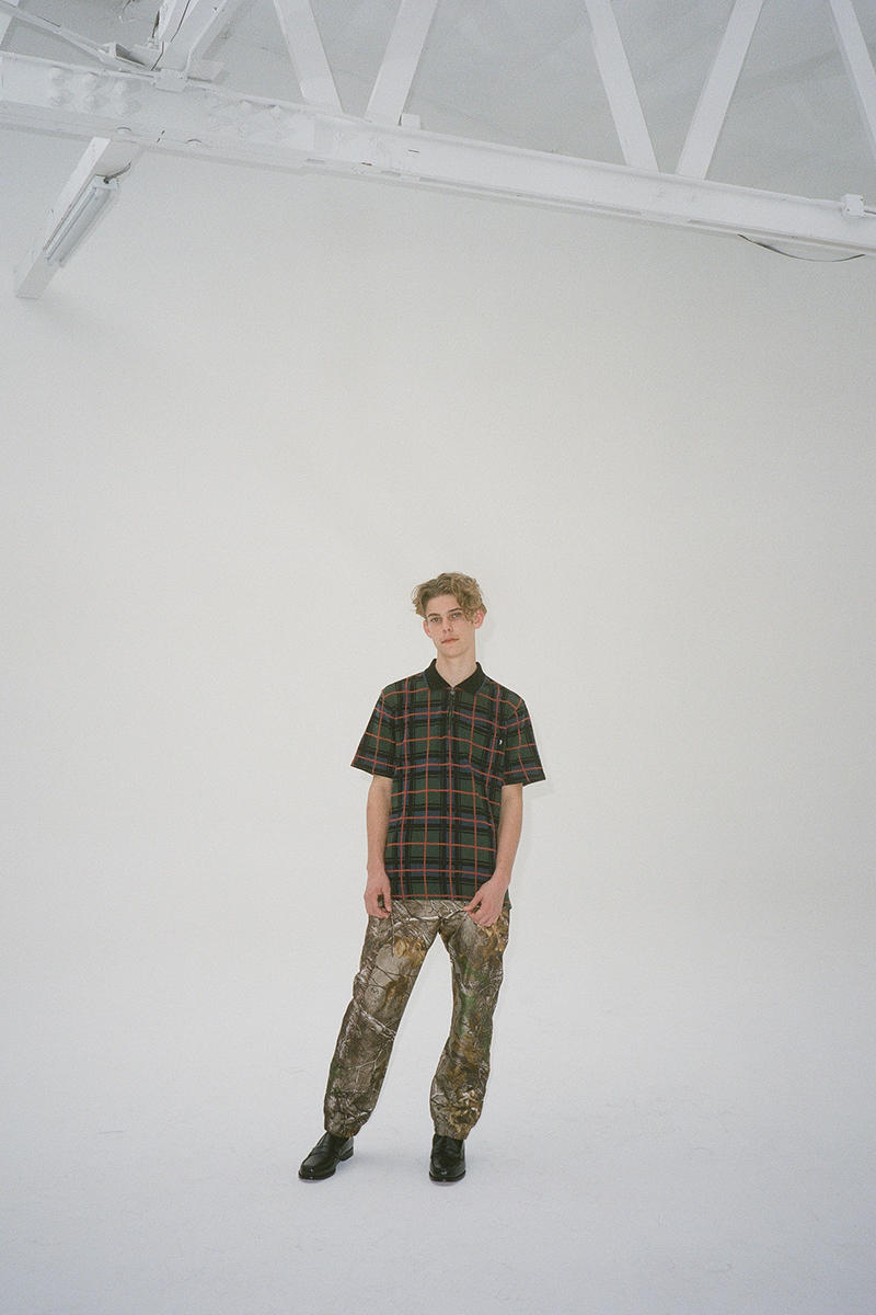 Stüssy Fall 2018 Collection Lookbook outerwear tracksuits T-shirts pants camo stripes release info