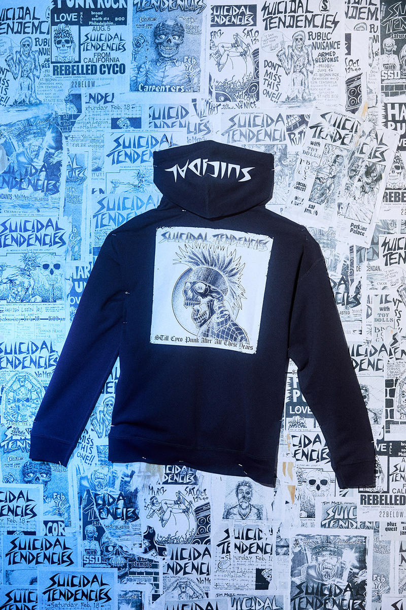 91163fd6dad4 converse suicidal tendences collaboration capsule chuck taylor all star  hoodie sweater shirt tee printed screen black