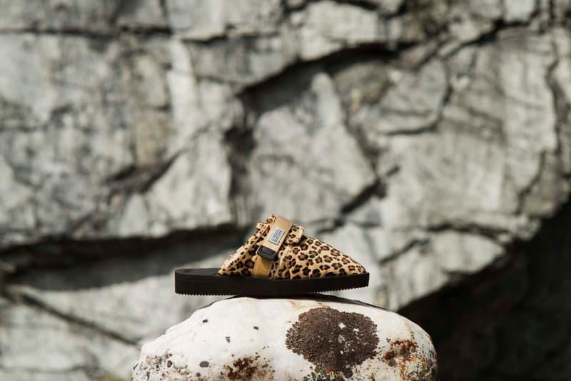 0145b632332e Suicoke Fall Winter 2018 Collection Lookbook sandals boots animal print  leopard cow print moto zavo toby