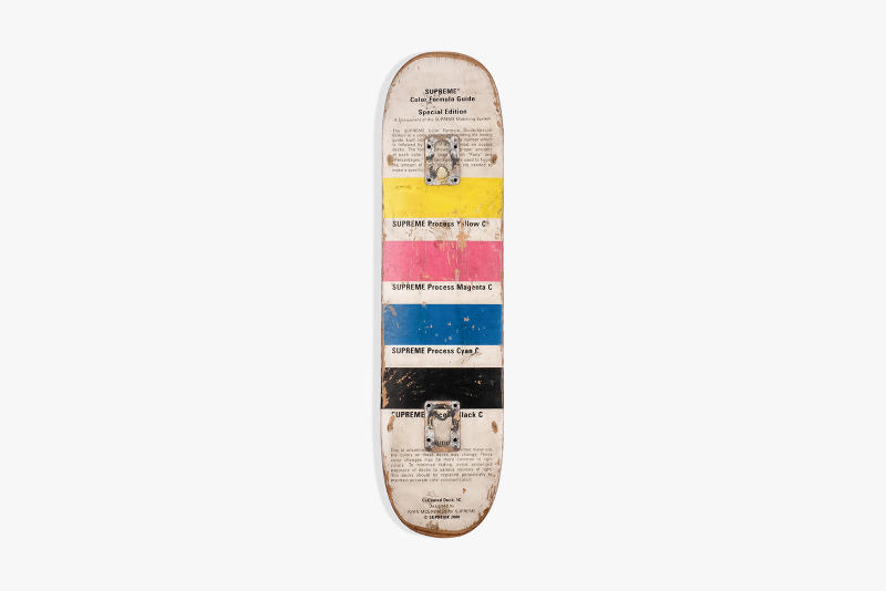 "Supreme Artist Collab Skate Deck Grailed Drop Cop Purchase Buy Limited Edition Sale Public Enemy ""It Takes a Nation Of Millions"" Chapman Bros Harmony Korine ""Macaulay Culkin"" Sean Cliver ""Halloween"" ""Red Dipped Logo ""Copyright"" ""Snow White"" ""Kermit The Frog"" ""Power Corruption & Lies"" Ryan McGuiness ""Pantone CMYK"""