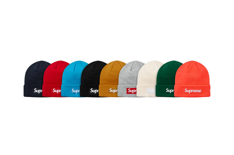 Supreme Fall/Winter 2018 Hats