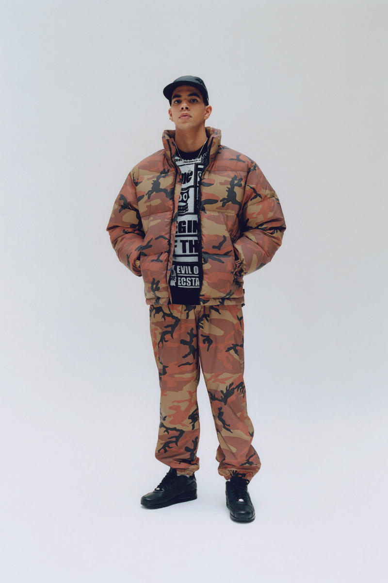 Supreme Fall/Winter 2018 Editorial Shoot Camo Jacket 3M Flash Off