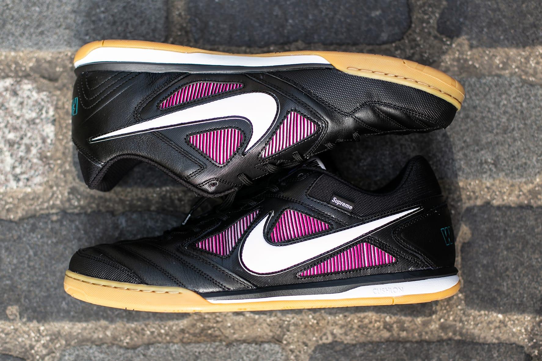 Supreme x Nike SB Gato Closer Look