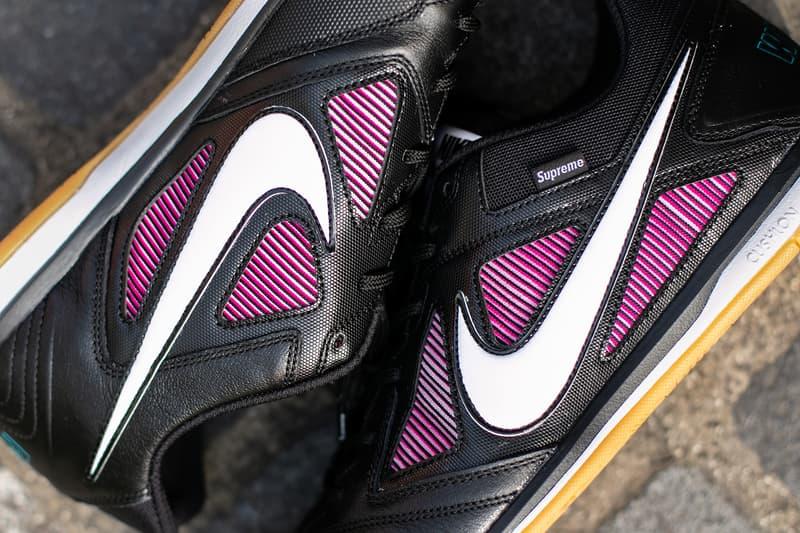 Supreme Nike SB Gato Closer First Look Black Colorway