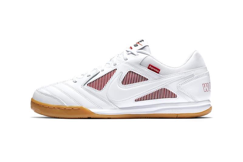 low priced 43f49 80ebd Supreme x Nike SB Gato Restock on SNKRS APP | HYPEBEAST