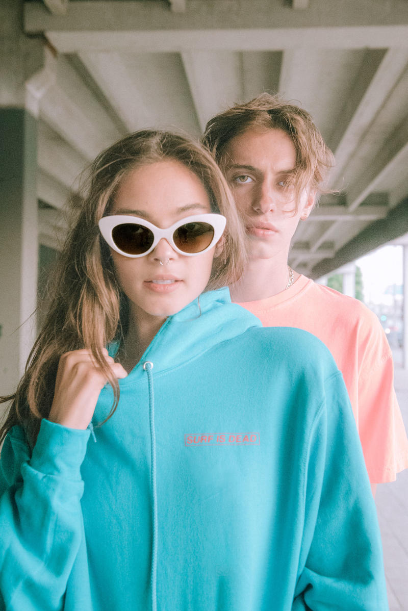 Surf Is Dead Drop 5.0 Lookbook collection release info shirts hats pullovers hoodies