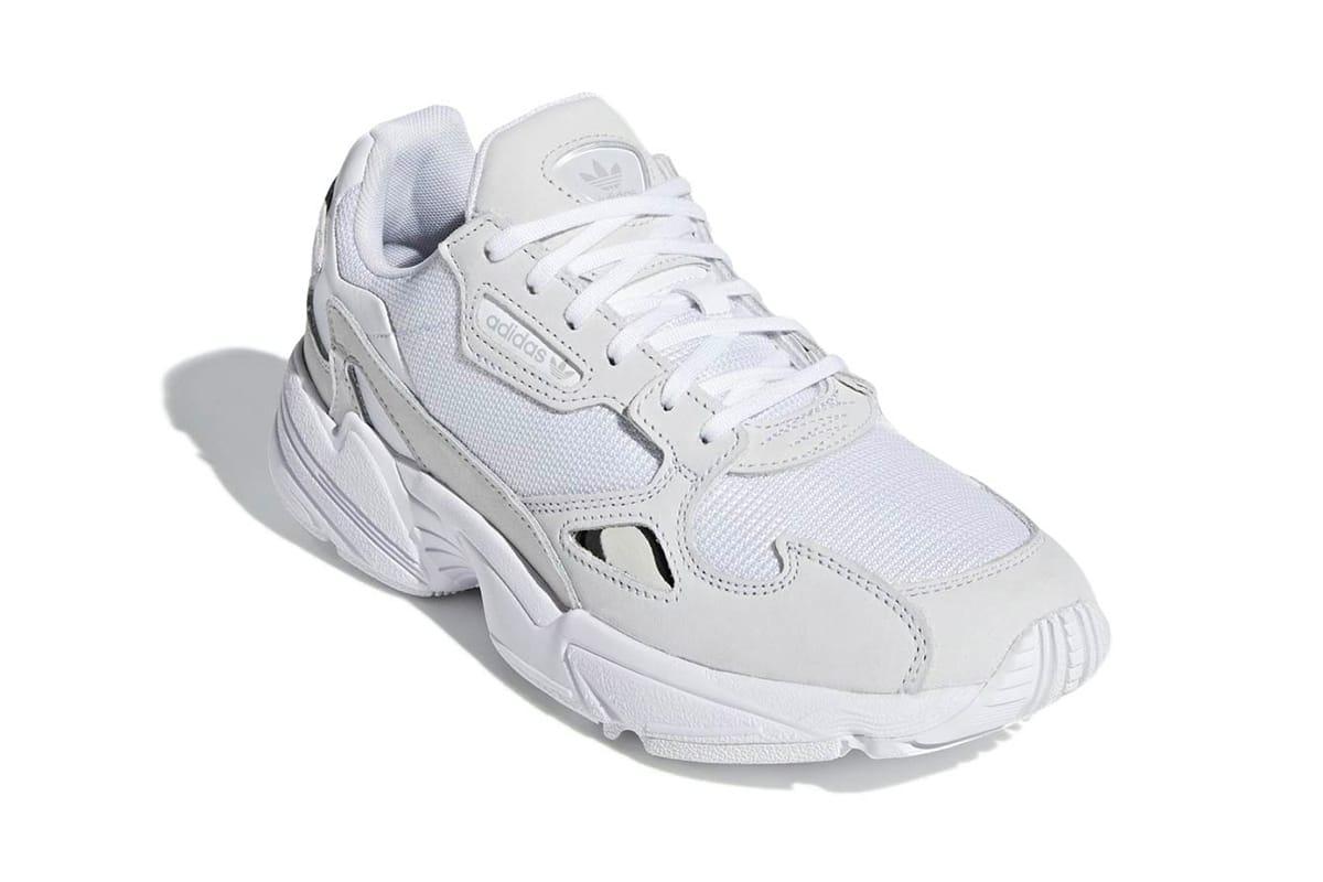 adidas falcon mens white