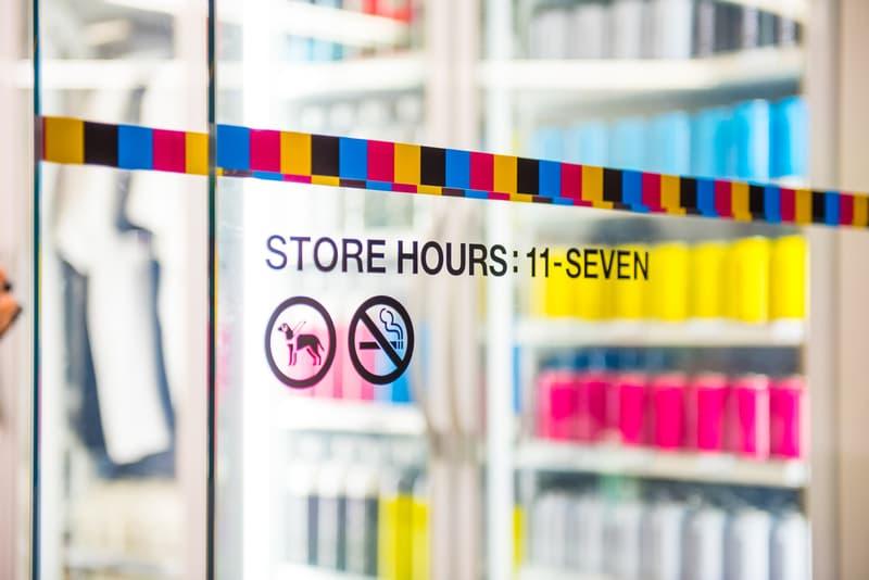 The Conveni Ginza Sony Park Closer Look Inside Store Shop Clothing Accessories Cop Purchase Buy Open Hiroshi Fujiwara Wtaps Neighborhood