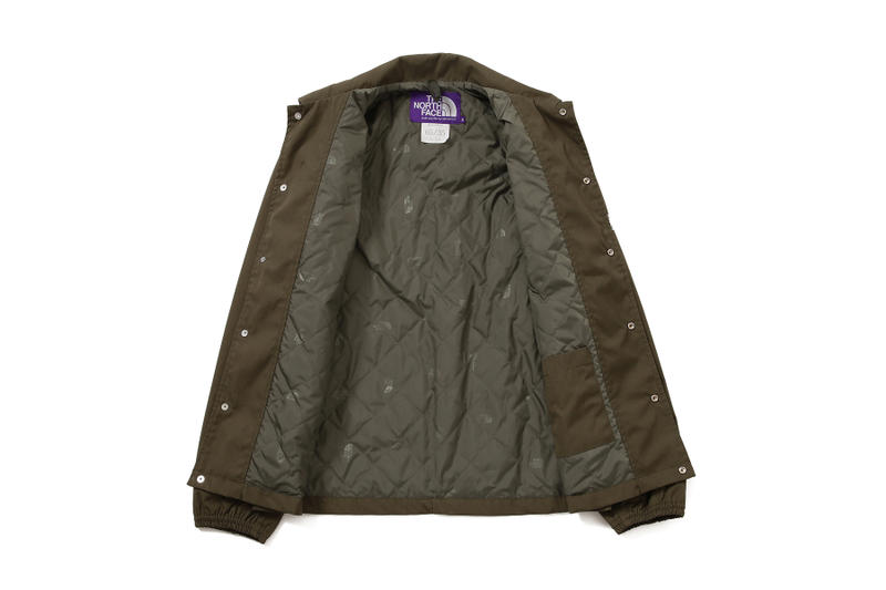 the north face purple label beams exclusive fall winter 2018 outerwear jackets coats 35 65 quilted lining green glen check plaid grey navy beige khaki eiichi homma august 30 2018 drop release date buy purchase sale sell