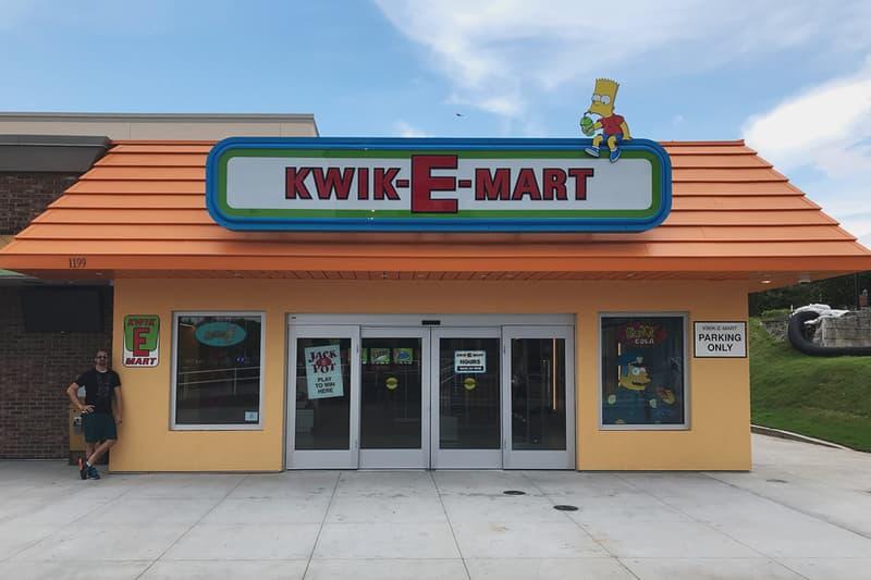 The Simpsons Kwik-E-Mart store Myrtle Beach South Carolina shop Aztec Theater
