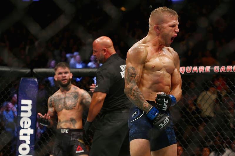 T.J. Dillashaw Stops Cody Garbrandt UFC 227 MMA Bantamweight Championship Rematch Dana White