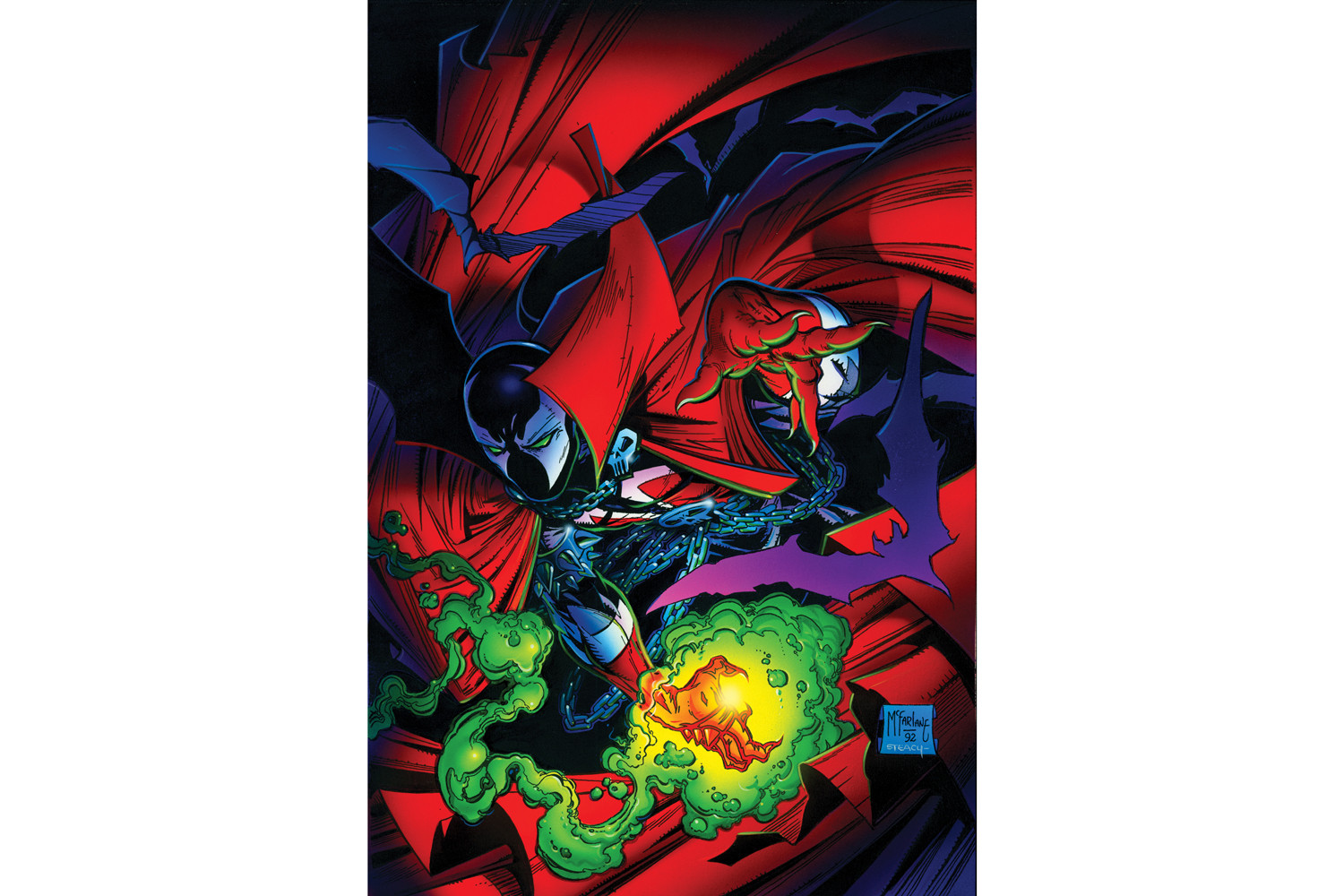 Spawn Todd McFarland Venom Interview Marvel Image Comics Sony Jamie Foxxx Blumhouse Jason Blum Art Comics Toys