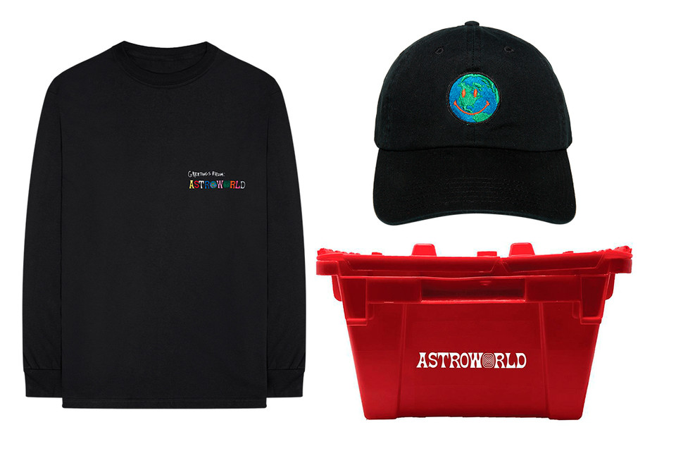 e614e21e471 Travis Scott  Astroworld  Merch Drop 5 Release