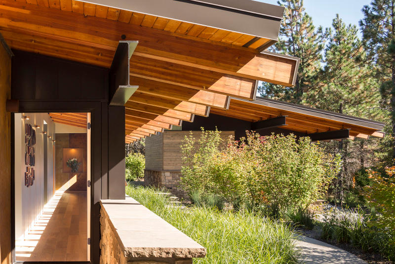 Tumble Creek Cabin Coates Design Architects Cle Elum United States Homes Houses Modern Wooden Open Glass