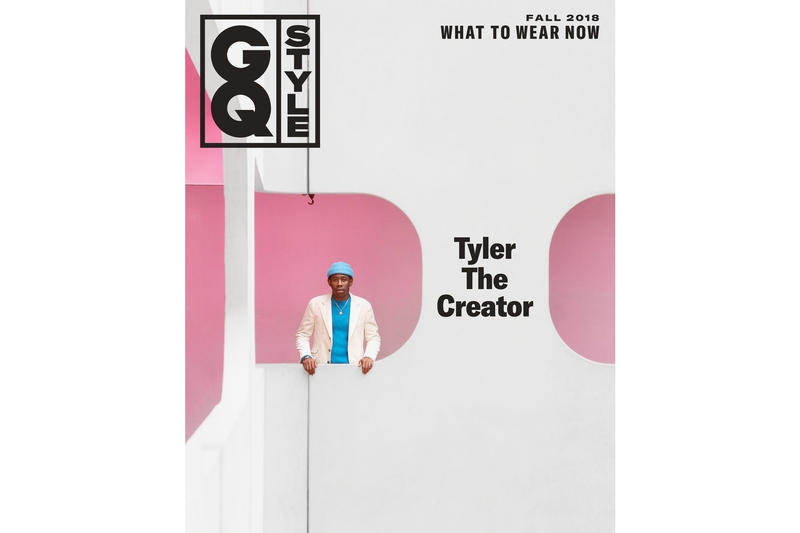 Tyler, the Creator GQ Style Fall 2018 Magazine Cover Matthieu Venot Odd Future Frank Ocean Interview Conversation GOLF Wang Le Fleur