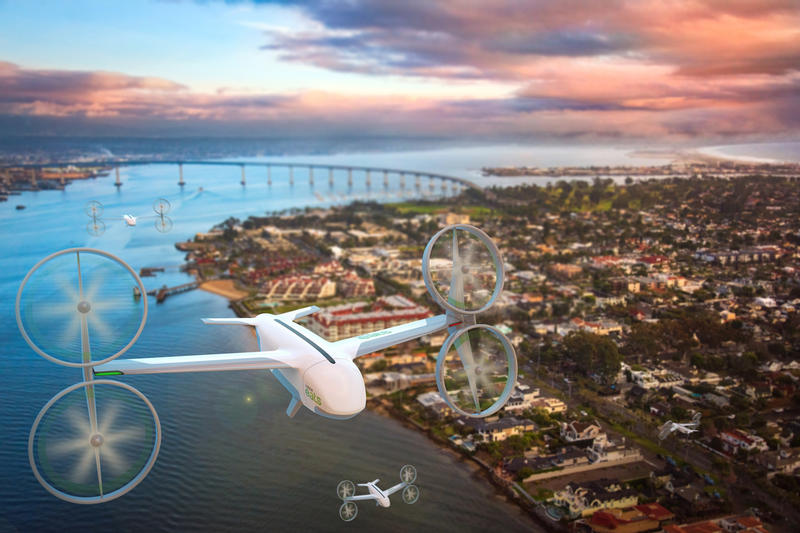 Uber Eats Drone Delivery Service Air Uber Elevate Tokyo Skyports