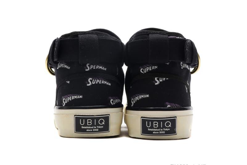 UBIQ eL superman release info white black navy sneakers atmos